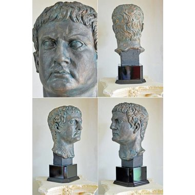 Busto in bronzo generale Marco Agrippa
