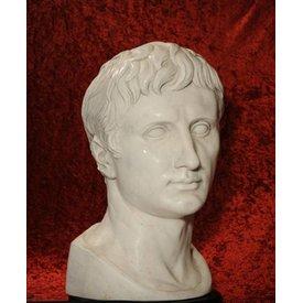 Buste de l' empereur Auguste Prima Porta, grand modèle