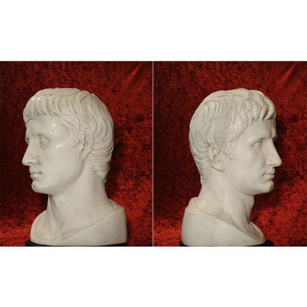 Busto grande emperador Augustus Prima Porta