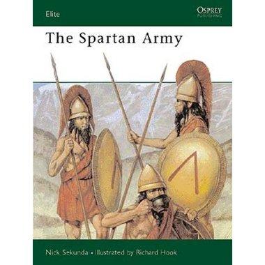 Osprey: l'armée spartiate
