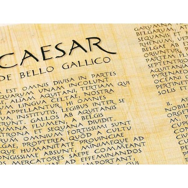 De bello gallico di Cesare