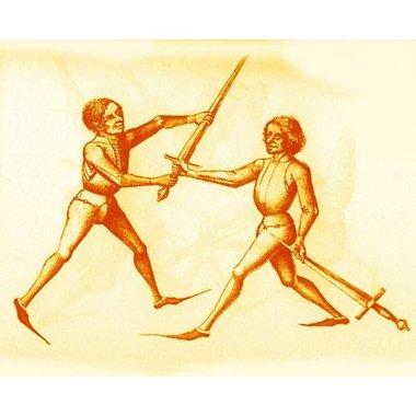 Flemish hand-and-a-half sword