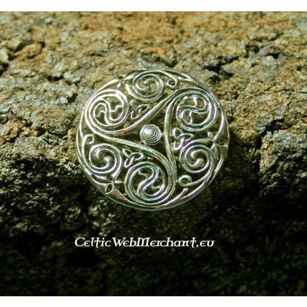 Celtic broszka Triskelion