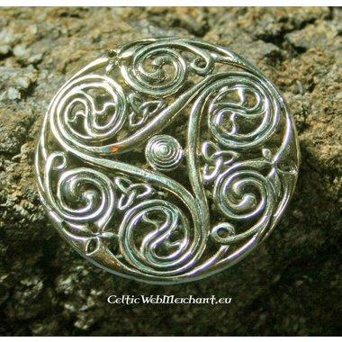 Spilla celtica triskelion