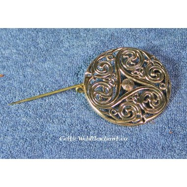 Broche celtique, Triskèle