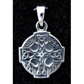 Keltisk cross sølv