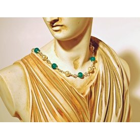 Romersk perle halskæde Claudia