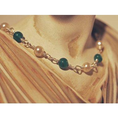Collar Romano de perla Claudia