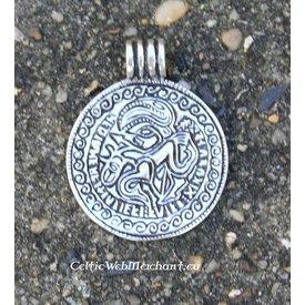 Bracteate Vikinga, réplica