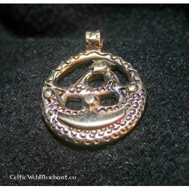 Amuleto Vikingo Uppland bronce
