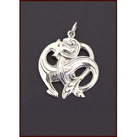 Silver Midgard snake
