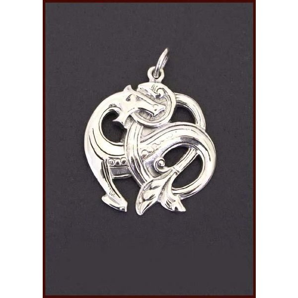 Serpiente Midgard plata