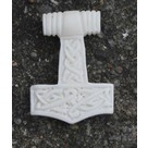 Bone Thors hammer with knot motive