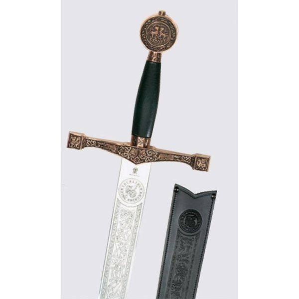 Epée décorée espagnole, 15ème siècle
