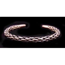 Bracelet tressé, en bronze
