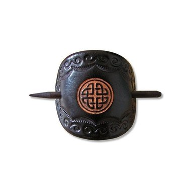 Celtic hairpin Ana brown