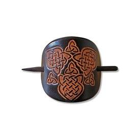Épingle celtique à cheveux, Joan, noir