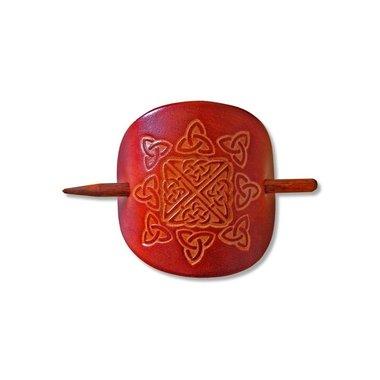 Keltische haarpin Nuala bruin