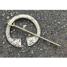 Brass Irish fibula