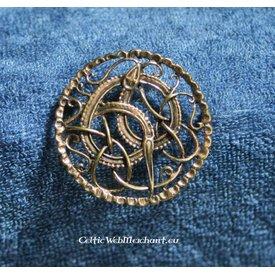 Viking broszka z węża Midgardu