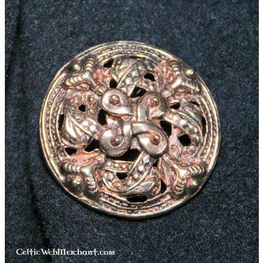 Spilla vichinga in bronzo in stile Borre