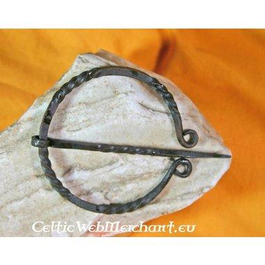 Fibula anillo trenzado