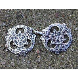 Agrafe de cape celtiques, 2 pièces