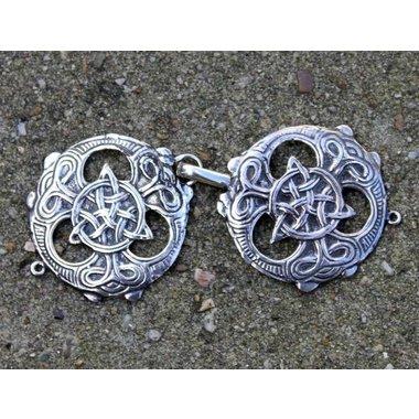 Agrafes de cape celtiques, 2 pièces
