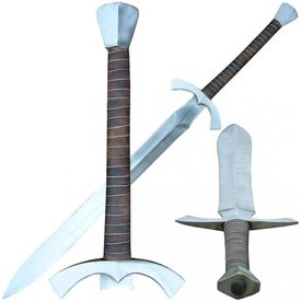 Two-handed broadsword