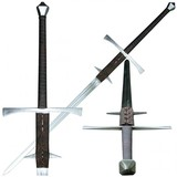 Two-handed Renaissance sword Baldwinus