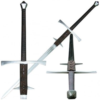 Two-handed Renaissance sword Baldwinus