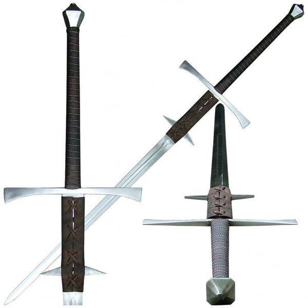 Fabri Armorum Espada de dos manos del Renacimiento Baldwinus