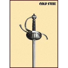 Cold Steel Rapier met schelpvormige stootplaat
