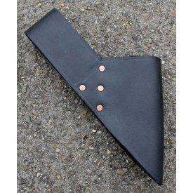 Leather sword holder for belt