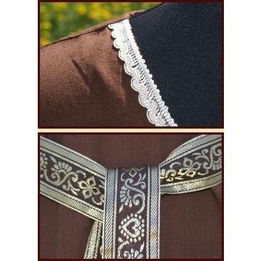 Vestito Clara (marrone-bianco)