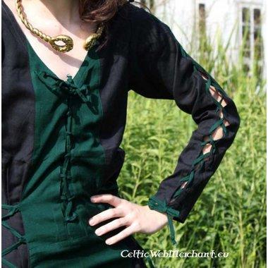 Vestido Fea negro-verde