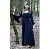 Vestito Branwen, nero-rosso