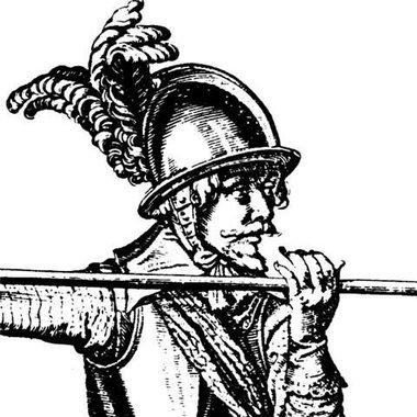 Casco piquero siglo 17