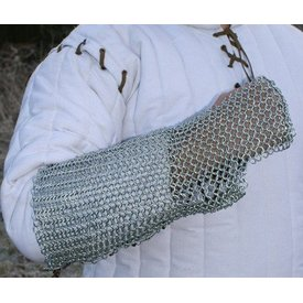Ulfberth Chain mail arm protection, zinc-plated