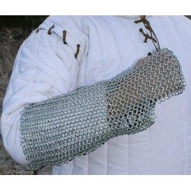 Ulfberth Maliën armbeschermer, verzinkt