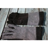 Chain mail gloves, zinc-plated, 6 mm