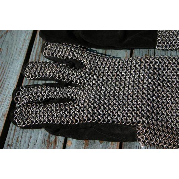 Guantes malla, galvanizado, 6 mm