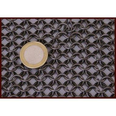 1 kg di anelli di cotta di maglia ribattuti, 8 mm