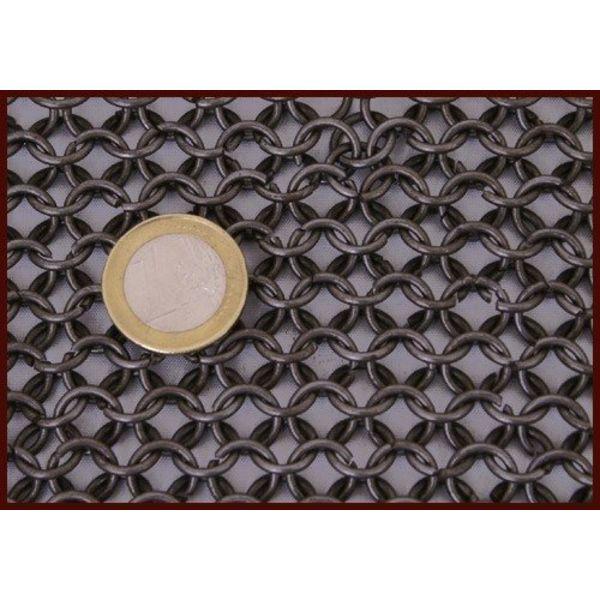 Ulfberth 1 kg di anelli di cotta di maglia ribattuti, 8 mm