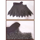 Chain mail aventail, round rings - round rivets, 8 mm