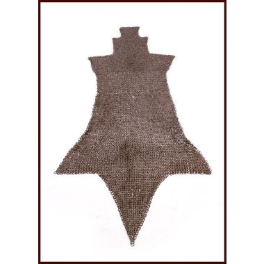 Brache di cotta di maglia, anelli rotondi - rivetti rotondi