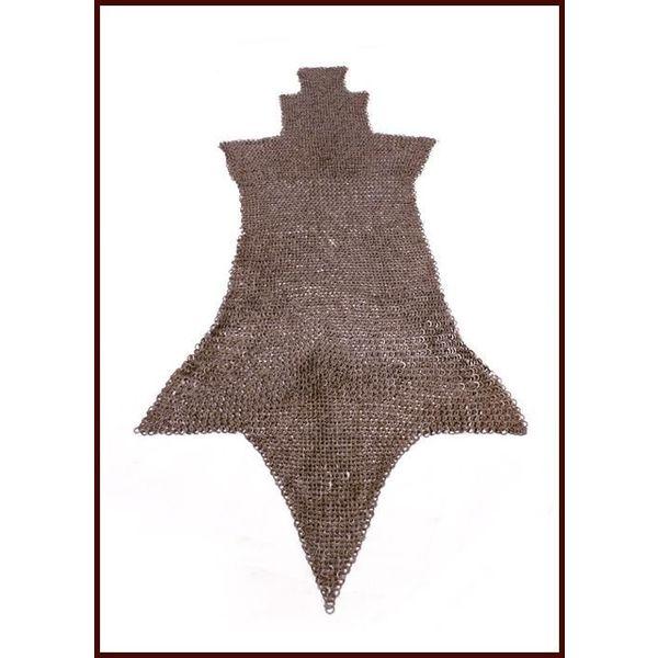 Ulfberth Brache di cotta di maglia, anelli rotondi - rivetti rotondi