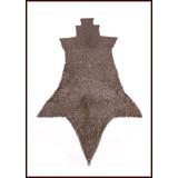 Brache di cotta di maglia, anelli piatti - rivetti rotondi, 8 mm