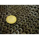 1000 flat rings, wedge rivets, 8 mm