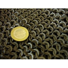 Ulfberth 1000 maliënringen, platte ringen - wigvormige klinknagels, 8 mm